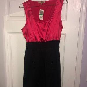 NWT - Be Bop Pink/ Black Dress
